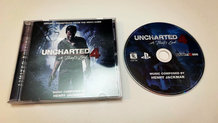 Soundtrack Uncharted 4 A Thief's End