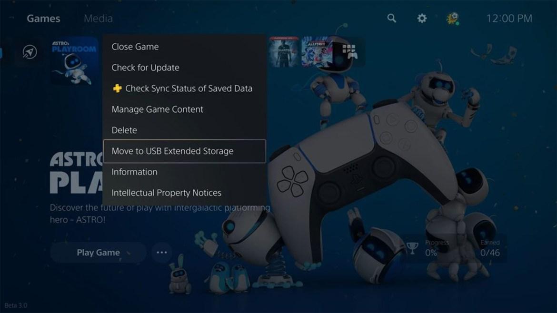 Stockez vos jeux PS5 sur des lecteurs externes USB