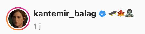 Légende Vidéo Instagram Kantemir Balag