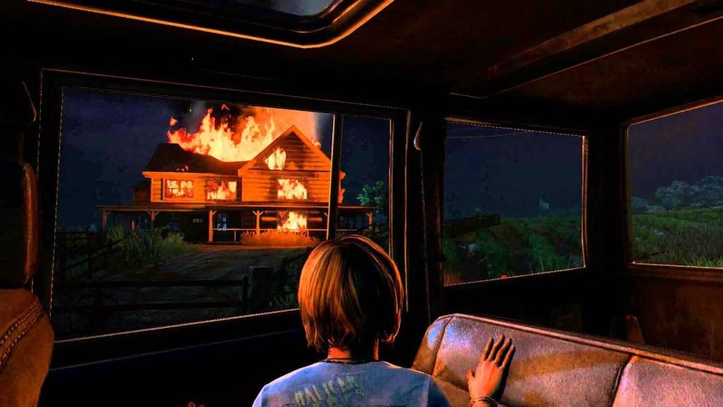 The Last of Us HBO et TLOU1: la ferme de Louis