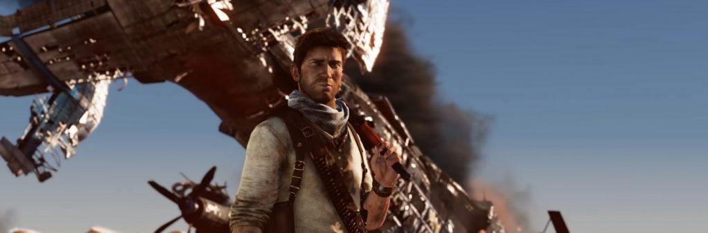Uncharted Collection, L'Illusion de Drake: Nathan dans le désert, avion en arrère-plan
