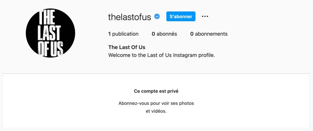 The Last of Us Instagram
