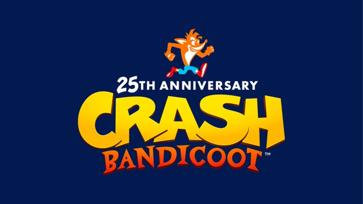Crash Bandicoot 25 ans
