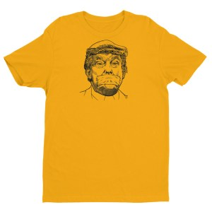 """""""Trump Silenced"""" Fitted T-shirt"""