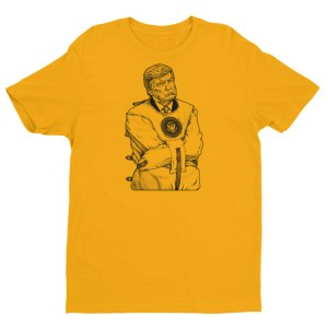 """""""Madman-In-Chief Trump"""" Fitted T-shirt"""