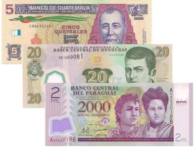 , Unidades monetarias, czyli jednostki monetarne