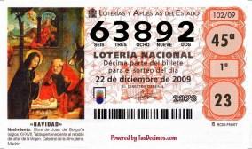 , Lotería de Navidad