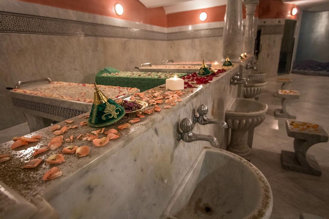 Tradition mariage pour Hammam à Fès