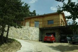maison en bois en lozere 48