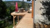 terrasse sur mesure à Costaros