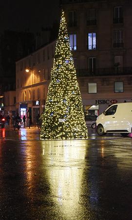 illuminations a paris avenue du general leclerc avec l acagl14 nautes de paris