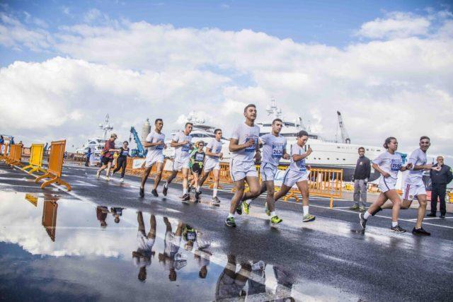 Livorno Half Marathon inside Benetti and Lusben
