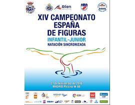 Cartel Campeonato de España de figuras Infantil y Junior
