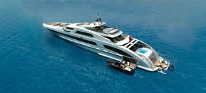 Heesen Yachts lay the keel of a 65-metre Fast Displacement motor yacht