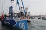 Dick et Peyron sur Virbac-Paprec 3 remportent la Barcelona World Race 2011