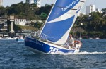 David Raison Team Work remporte la mini transat Charente Maritime Bahia