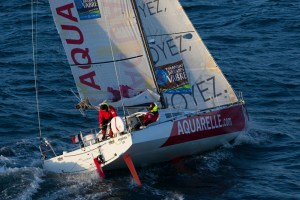 Transat Jacques Vabre : Victoire d'Aquarelle.com