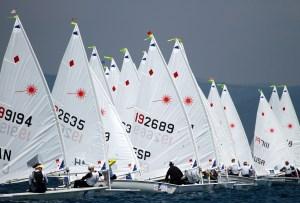 Europa Cup : 450 Lasers à Martigues