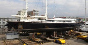 Perini Navi Group launches Enterprise, a 50m aluminium sailing yacht