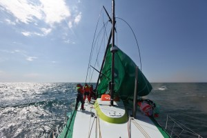 volvo ocean race groupama 4 dematage