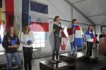 Laser radial championnat europe -21 ans 2012 podium