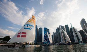 Extreme Sailing Series : Danish duo change tactics and eye up podium