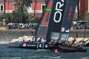ORACLE TEAM USA wins match in Naples and captures overall ACWS season championship