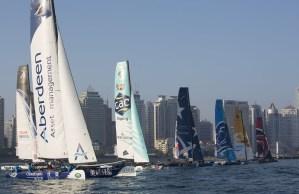 Extreme Sailing Series : The Wave, Muscat overhaul Alinghi's 14-race reign before Qingdao final showdown