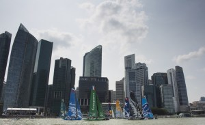 Extreme Sailing Series : Resounding victory for Alinghi in Singapore