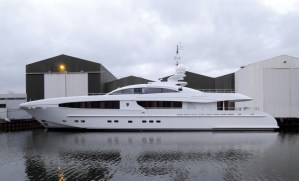 Heesen has announced the launch of its first 40 metre 'sportster', christened M/Y Galatea