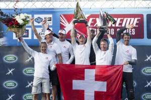 Extreme Sailing Series : Alinghi couronné champion 2014 après sa victoire à Sydney