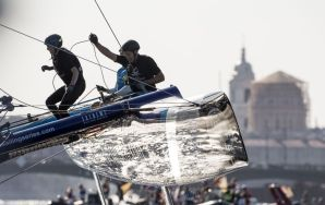 Extreme Sailing Series : The Wave, Muscat claim fourth Act title of the season in Saint Petersburg