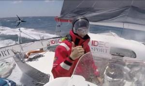 Trophée Jules Verne : IDEC Sport à l'approche de l'océan indien