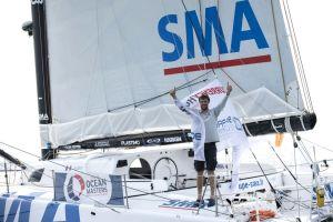 Transat New York – Vendée : Arrivé en quatrième position, Paul Meilhat : « Je suis à ma place »