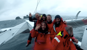 IDEC SPORT : Francis Joyon sets a new record at Cape Horn