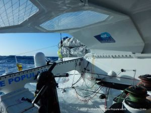 Le Cléac'h closes in on Vendée Globe finish line