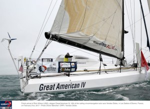 Vendée Globe :  Rich Wilson takes thirteenth place