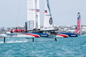 America's Cup : pas de miracle pour Groupama Team France