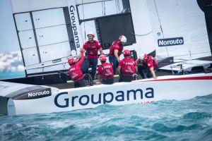 America's Cup : Superbe première victoire pour Groupama Team France