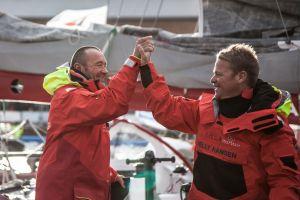 Victoire de Lalou Roucayrol et Alex Pella,  sur la Transat Jacques Vabre en Multi50