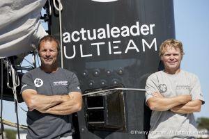 Brest Atlantiques – Expertise et éclectisme à bord de l'Ultim Actual Leader : Yves Le Blevec fera équipe avec Alex Pella