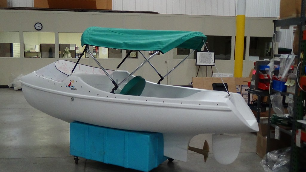 Electric Sailboat Propulsion