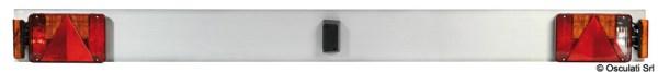 Barra Posteriore Lega Leggera Con Luci 180 Cm 02 023 16 Osculati