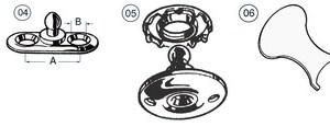 Ancora Epsilon Zincata 6 Kg 01 128 06 Osculati