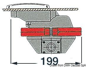 Rullo Anima Tecnopolimero Esterno Gomma 250mm 02 029 46 Osculati