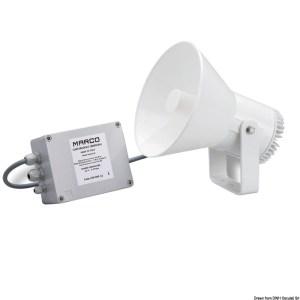 Tromba Elettronica Inox 12 V 21 430 12 Osculati