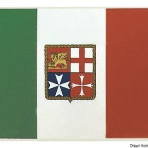 Bandiera Adesiva Italia 11 X 16 Cm 35 452 80 Osculati