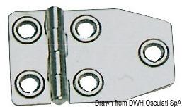 Metallo Ts 6x50 Aisi 316 316 963 6x50 Osculati