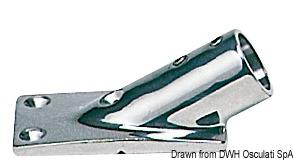 Asta Inox Telescopica Fanale Plastica Bianca 11 141 02 Osculati