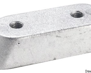 Anodo Fuoribordo Honda Alluminio 43 314 98 Osculati